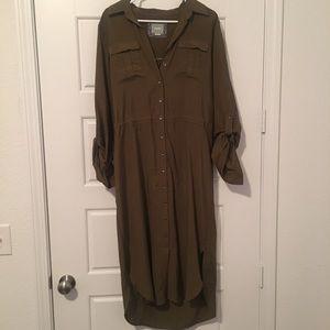 Maeve Button Down Dress